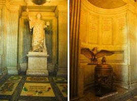Invalides Napoleon statue