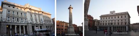 Piazza Colonna & Palazzo Chigi