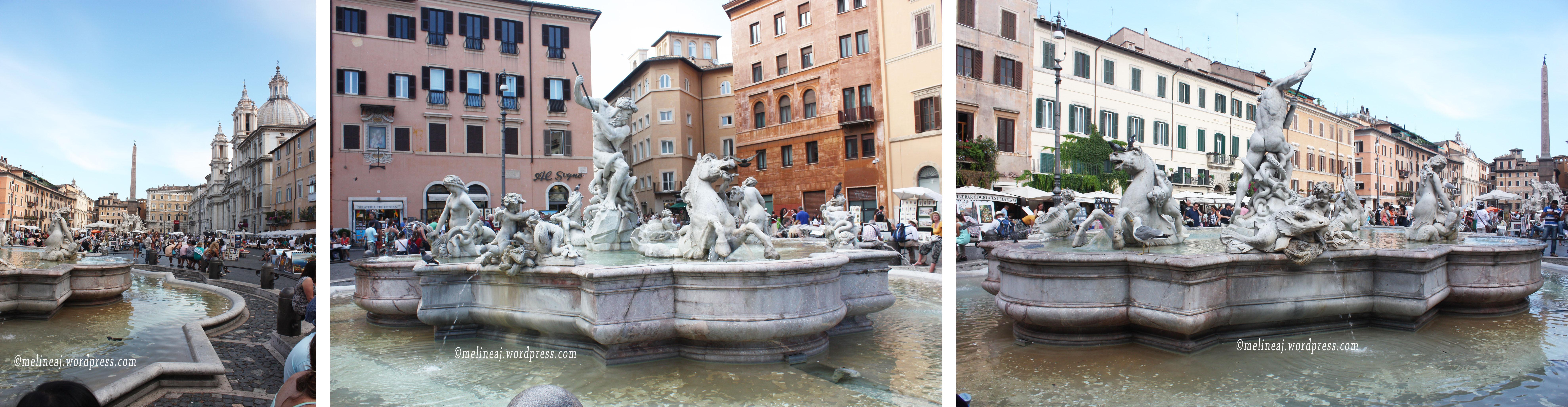 Rome Subway Map To Trevi Fountain Spanish Steps.Rome Day 7 Piazza Navona Il Vittoriano Trevi Fountain Spanish