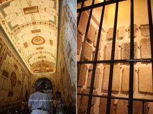 Vatican museum stair