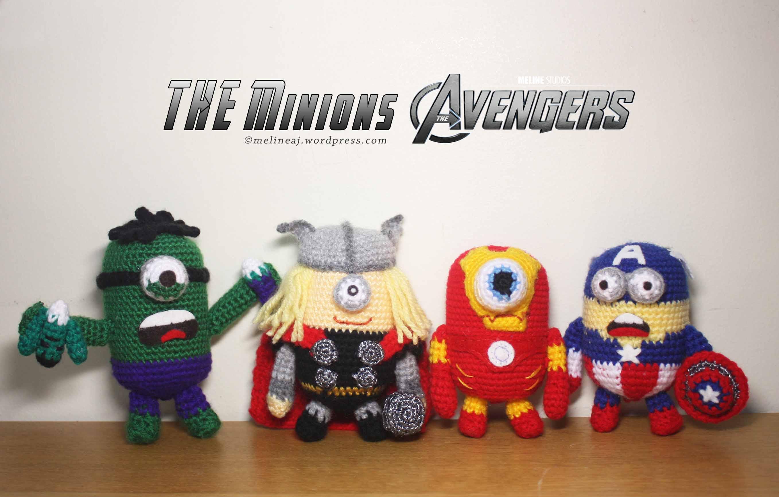 Amigurumi Minion Superheroes : 403 Forbidden